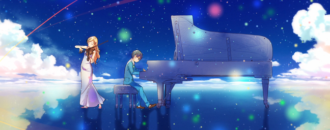 Resenha: Your Lie In April #01