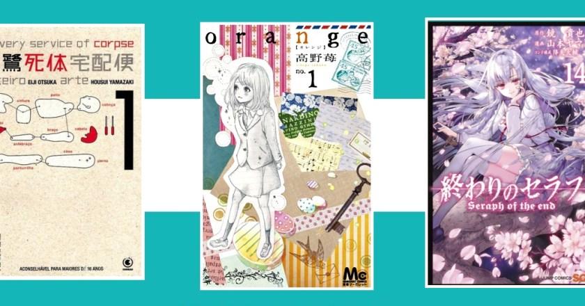 """NI 143. """"Orange"""" indicado a prêmio, retorno de """"Kurosagi"""" e mais…"""