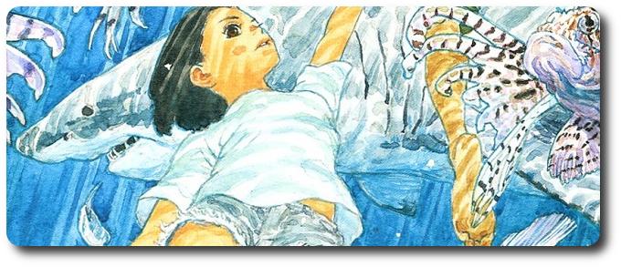 """NI 306. """"Children of the sea"""" será adaptado em um filme de animação"""