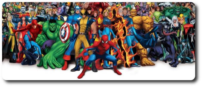 BBM Lista – Mangás de super-heróis americanos publicados no Brasil