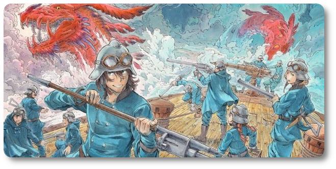 """Panini publicará o mangá """"Drifting Dragons"""""""