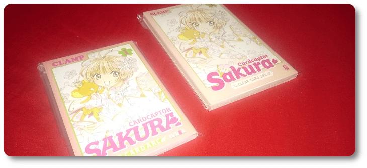 """""""CC Sakura Clear Card Arc"""": comparando a edição brasileira com a edição argentina"""