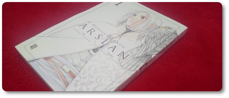 Resenha: A Heroica Lenda de Arslan (volume 1)