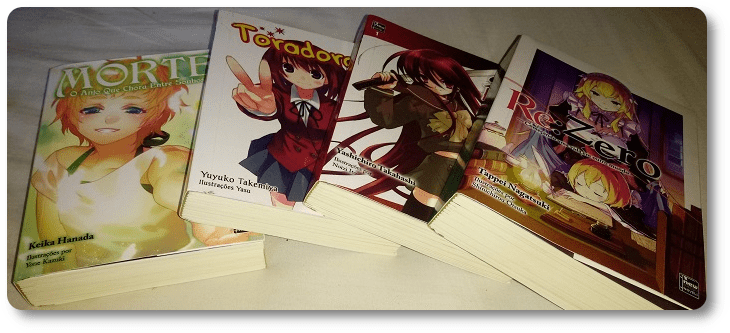 Retrospectiva 2019: light novels no Brasil