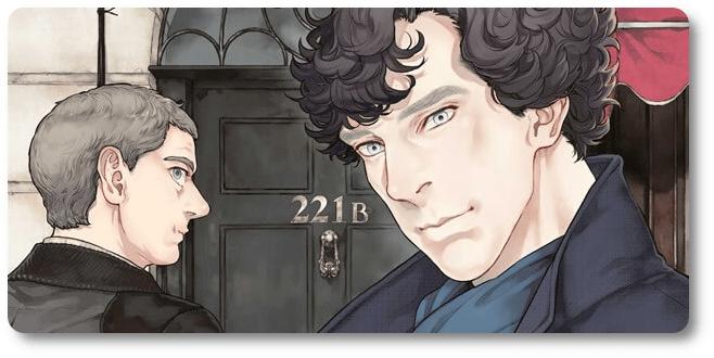 "Panini deve lançar novo volume do mangá ""Sherlock"" em março"