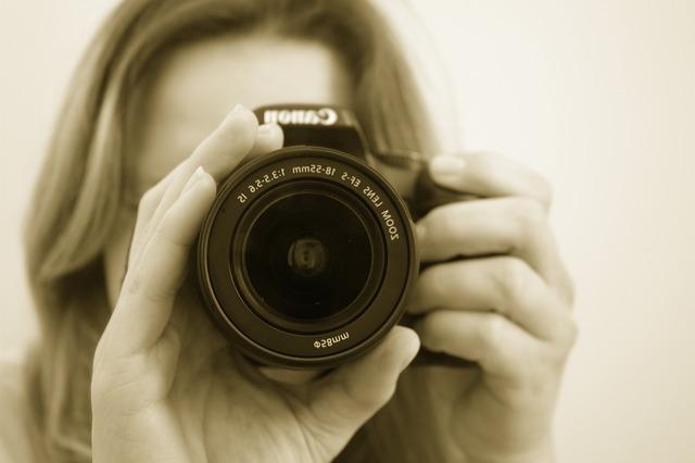 ブログに人物を撮影するテクニック