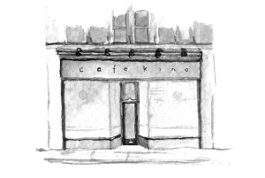cafe kino illustration
