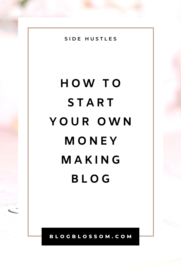 Looking to start a profitable side hustle and make extra money online this year? Follow my easy guide on how to start your own blog in minutes. Siteground has affordable and reliable self-hosted plans that are perfect for beginners! | affiliate marketing | passive income streams | entrepreneur | make money online | web hosting | blogging tips | blog tips | wordpress | start a blog | side hustles