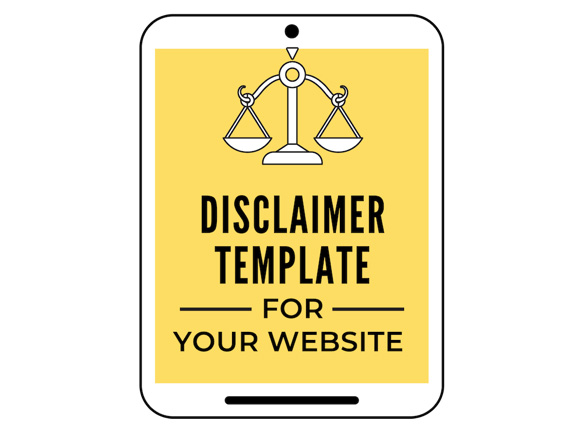 legal template bundle - disclaimer template