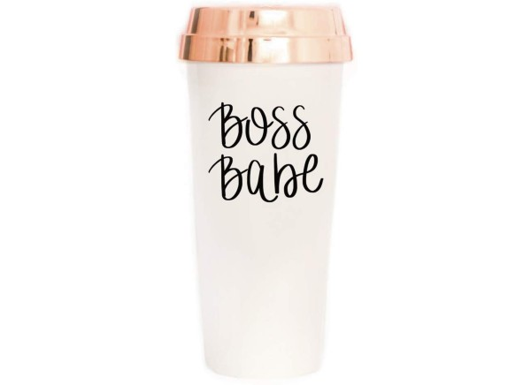 Boss Babe Travel Tumbler