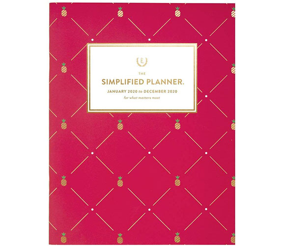 simplified by emily ley monthly planner
