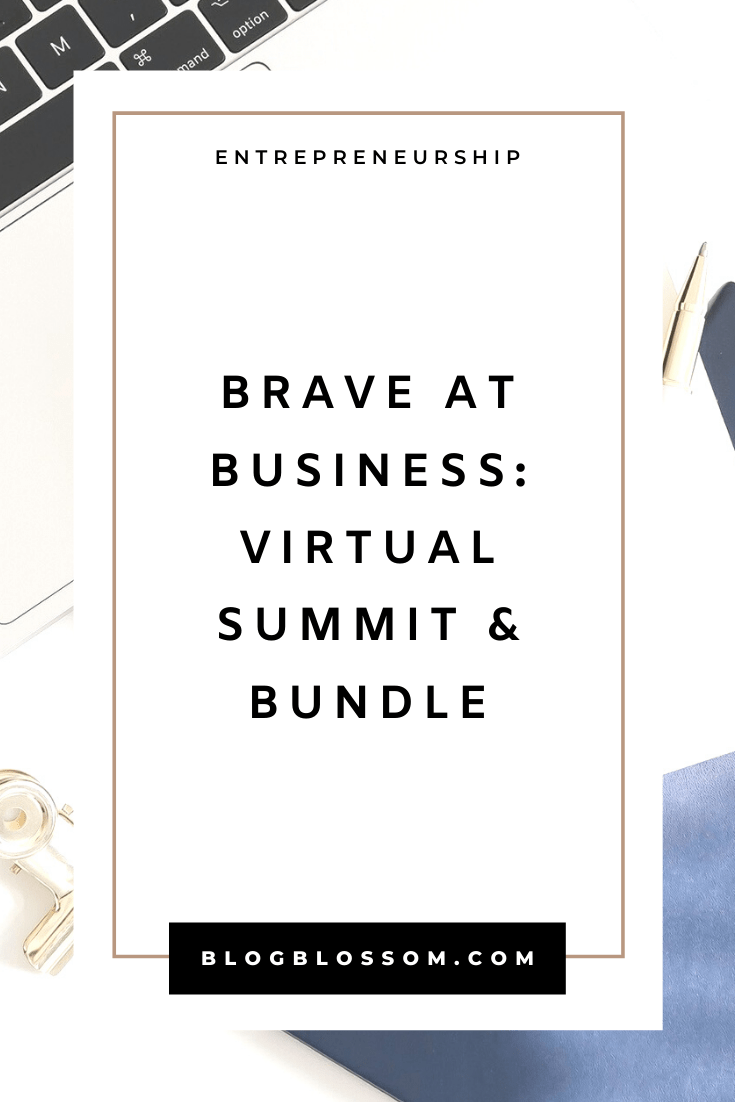 The Brave At Business bundle and free 5-day summit is a group of business resources jam-packed with knowledge featuring a group of diverse female entrepreneurs & content creators. Learn how to make more sales and come up with the tools to create a bullet-proof profit plan to make money . | start a business | online business | side hustles | monetization | solopreneuers | blogging tips | branding | women empowerment | pinterest tips | social media marketing | digital products