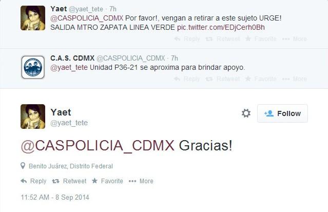 cdmx tuitera fascista vs indigente