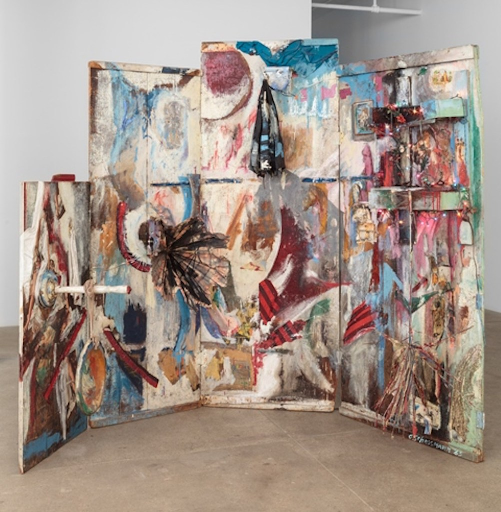 © Carolee Schneemann Four Fur Cutting Boards 1963