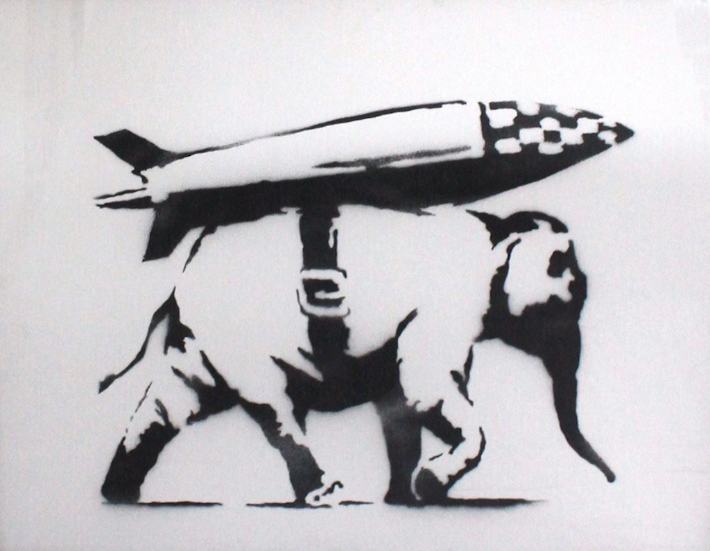 Banksy Heavy Weapon