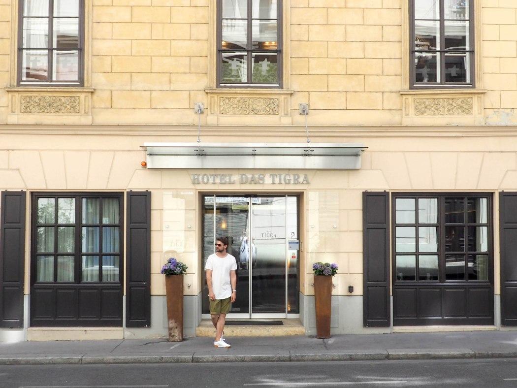Das Hotel Tigra Wien 2016 ©Michael André Ankermüller
