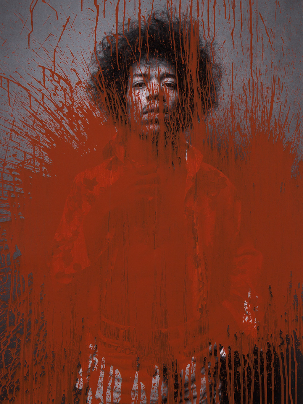 Jimi Hendrix, 2013 © Gen Atem