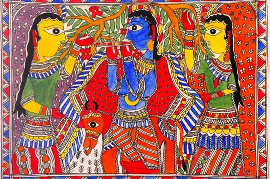 A Walk Through Evolution Of Madhubani Painting From Rural