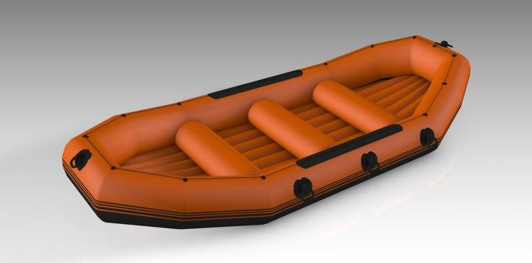 Balsa-Neumática-Para-Rafting