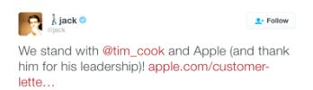 Jack Dorsey, CEO of Twitter