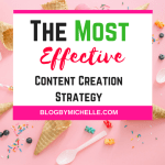 The Most Effective Content Creation Strategy