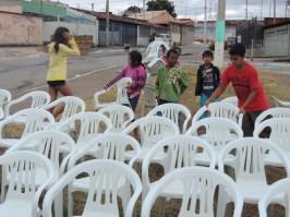 Ajuda dos moradores
