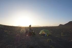 Wüstensturmnachtlager