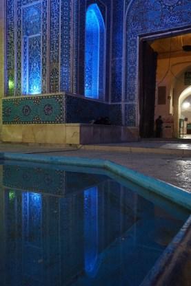 Jame Mosque bei Nacht