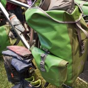 Los geht die Reise mit den Vaude Bike-Taschen