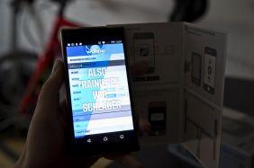 Die Wahoo Elemnt App führt Schritt für Schritt durch die Einrichtung