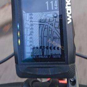 Display: Route wurde wiedergefunden