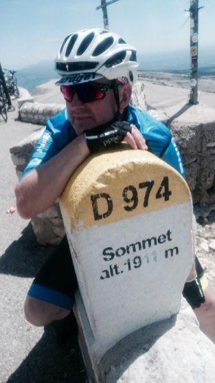 Rodney am Mt Ventoux