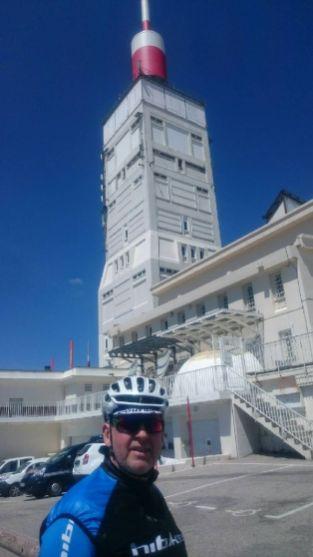 da ist er der Mt Ventoux
