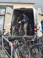 Fahrräder für Afrika - Abholung der Räder