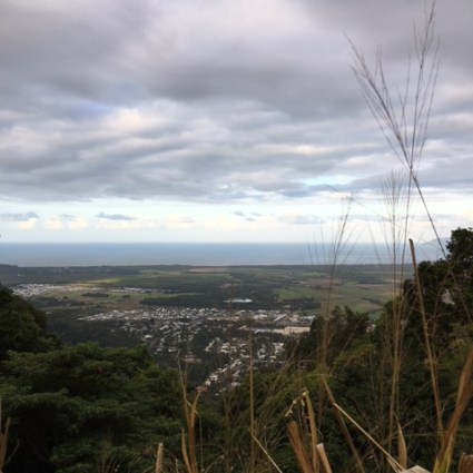 Ausblick auf Cairns