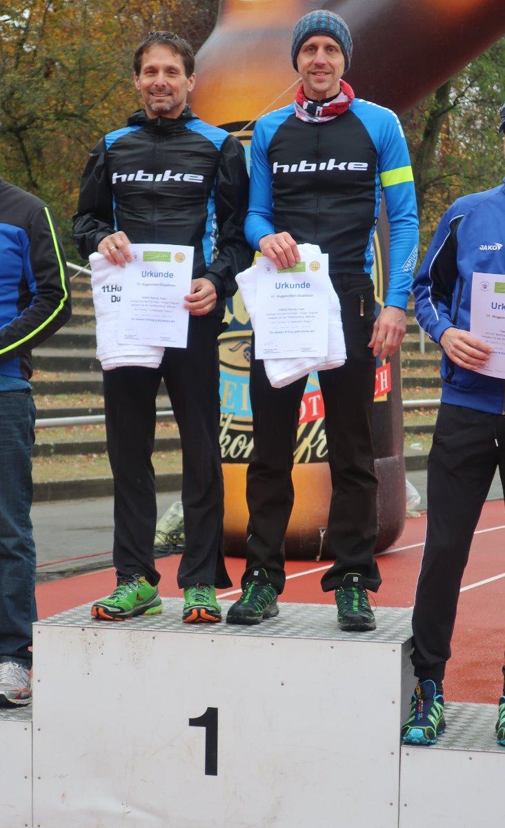 Unverhofft Platz 1: Holger und Andy