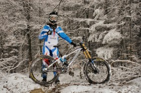 2013 Marcell Detmold - auch im Winter wird trainiert