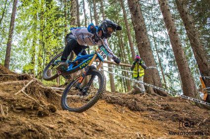 2017 Florian Werres in Slowenien beim iXS European Downhill Cp