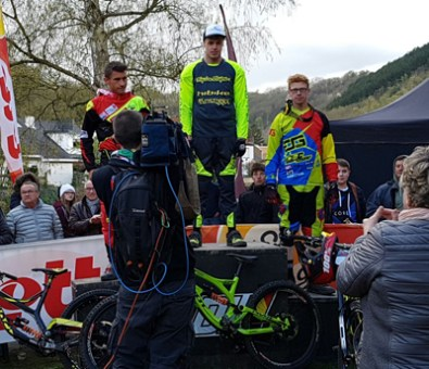 2016 - Platz 1 für Tom Bersselaar bei den National Championships in den Niederlanden