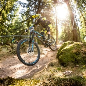 Bestes Wetter beim IXS Downhill Cup 2018 in Tabarz