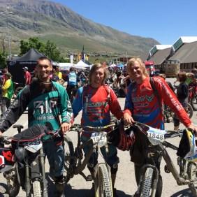 Qualifiaktion absolviert beim Megavalanche 2015 in Alpe de Huez
