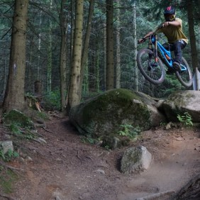 Floris im Lac Blanc Bikepark Summer 2017