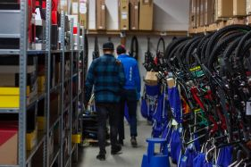 Hier lagern heute die Kompletträder bei HIBIKE