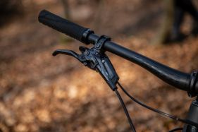 Abgesehen vom XTR Reserve sind alle Bikes mit Komponenten von SRAM ausgestattet