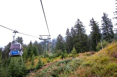 Die Bergkastellbahn bringt euch schnell und sicher an die Alm hoch