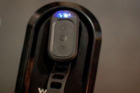 """Mit diesen einfachen Buttons lässt sich der KICKR Climb """"on the flight"""" einstellen!"""