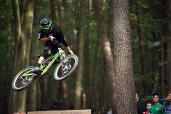 Chris im Bikepark Beerfelden 2014