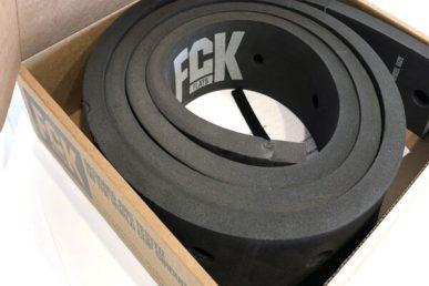 FCK Flats von Marsh Guard: Im Reifen verbaut, sorgt der Schaumstoff für erhöhte Pannensicherheit.