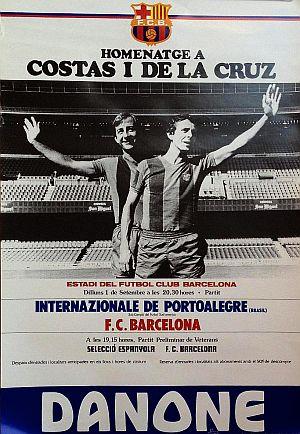El partido de homenaje a Costas y De la Cruz donde brilló Cleo