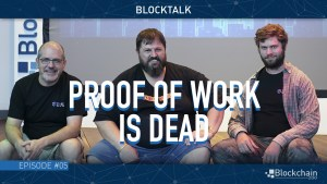 proof of work is dead